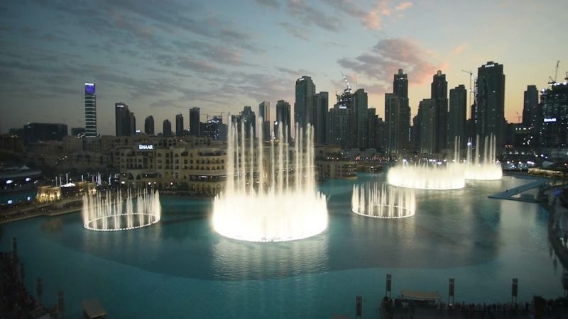 Choreographed on the Dubai Fountain Premiered on January 16th, 2018