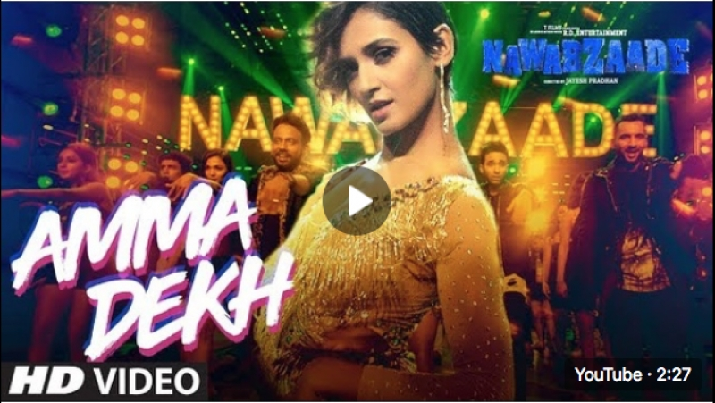 Aunty Dekh Video Song NAWABZAADE Raghav Punit Isha Dharmesh Shakti Gurin