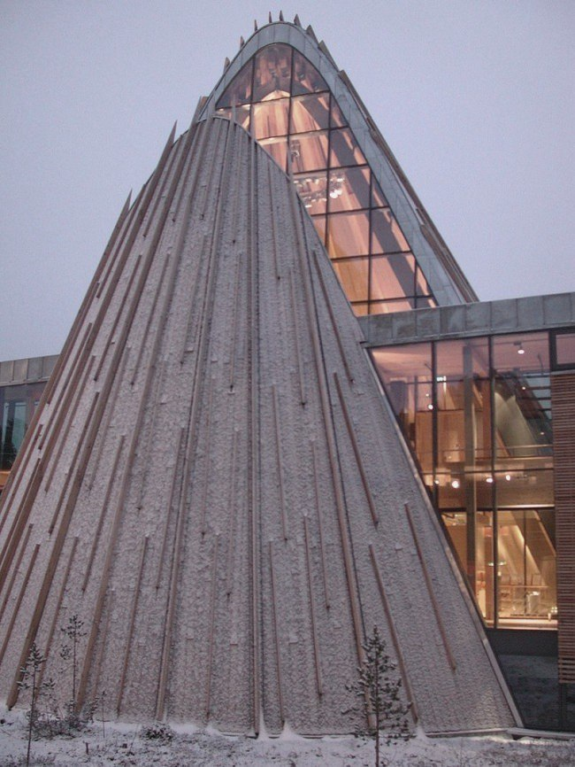 здание парламента Лапландии в Карасйоке