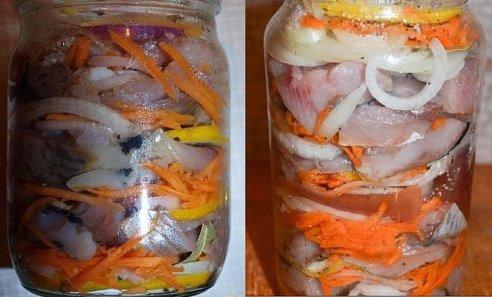 рецепт как солить селёдку
