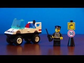 Обзор конструктора Brick 124 -  Полицейский Джип