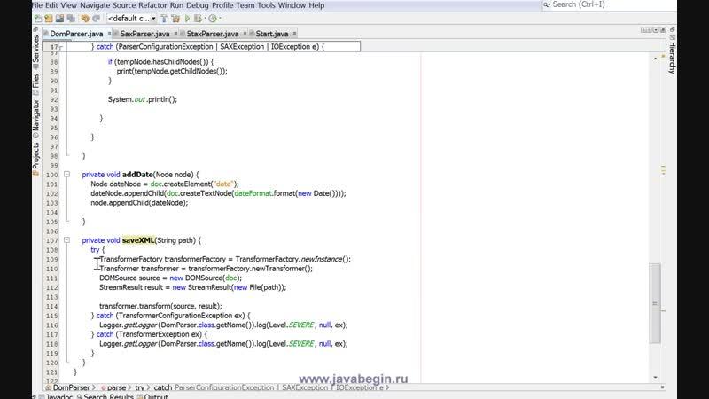 08 - web services. Java и XML. Разбор д з