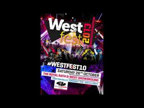 DJ SLY (SDC SET) MC BASSMAN MC TRIGGA - WESTFEST 2013