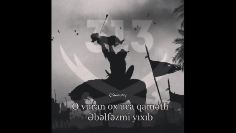 - Tülkü olan cəng eləməz Aslanla _waving_black_flag__black_heart_ ( 750 X 750 ).mp4