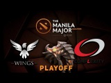 Wings vs. compLexity - Playoff @ Manila Major
