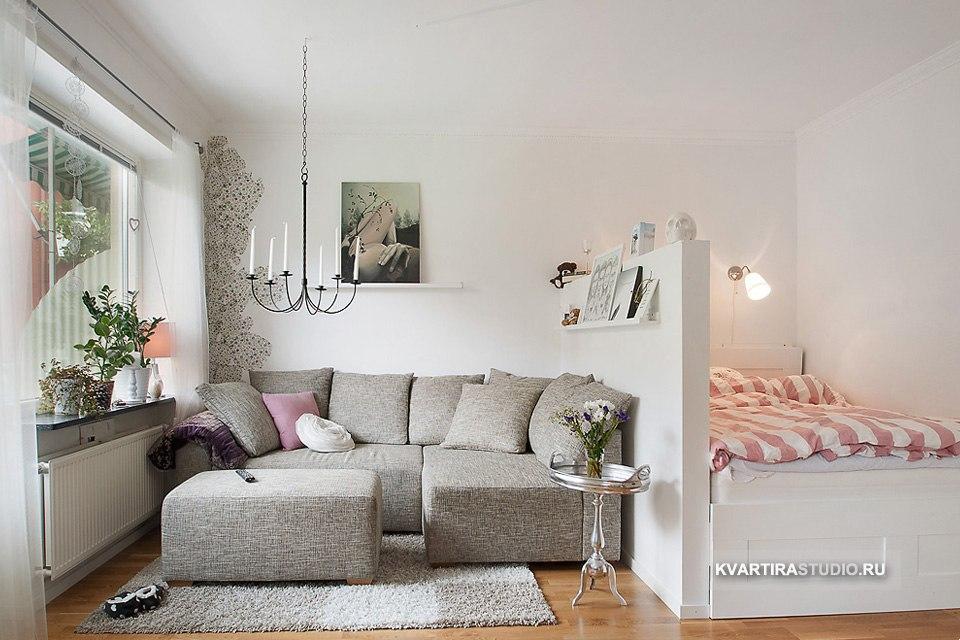 Уютная студия 34 м из однокомнатной квартиры в Праге / Чехия - http://kvartirastudio.
