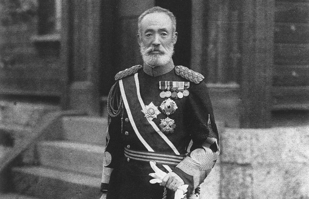Японский генерал Ноги Марэсукэ. Командовал осадой Порт-Артура.