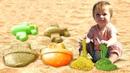 Бьянка и Кинетический Песок - развивающие игры - Дада игрушки