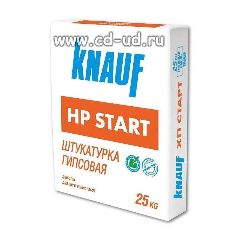 Штукатурка КНАУФ старт 25 кг Knauf HP Start
