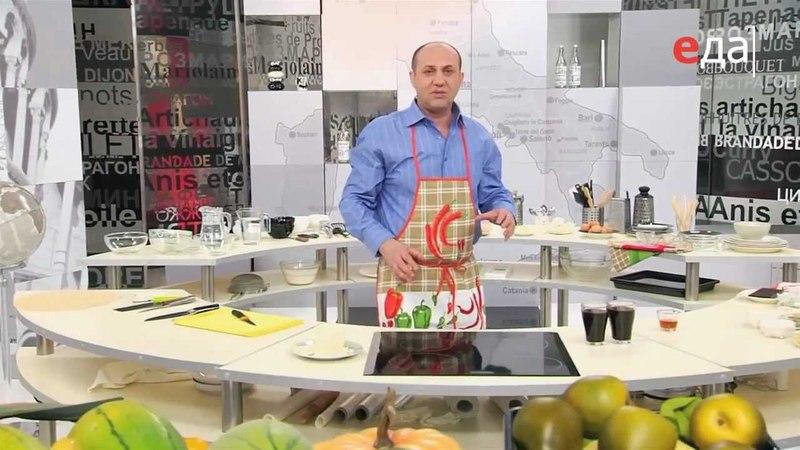 Рецепт Тирамису - Программа Мировой повар (ТВ Еда)