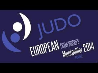 81 kg - STSIASHENKA, Aliaksandr (BLR) * MRVALJEVIC, Srdjan (MNE) # Judo ECh 2014 - Montpellier