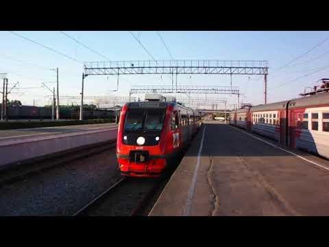Рельсовый автобус Поезд Памяти в городе-герое Туле