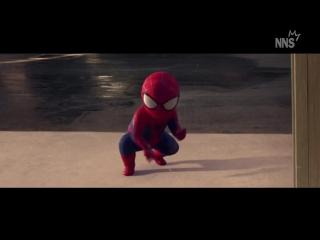 Человек-паук в детстве (NNS) ну себе прикол ржач ржака физрук универ серия сезон 2016
