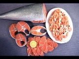 Miniature Salmon in Polymer Clay by Angie Scarr (Fast Motion)