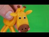 жираф в очумелых руках