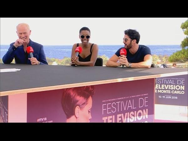 Samira Wiley, Darren Criss Neal McDonough at Monte-Carlo Television Festival