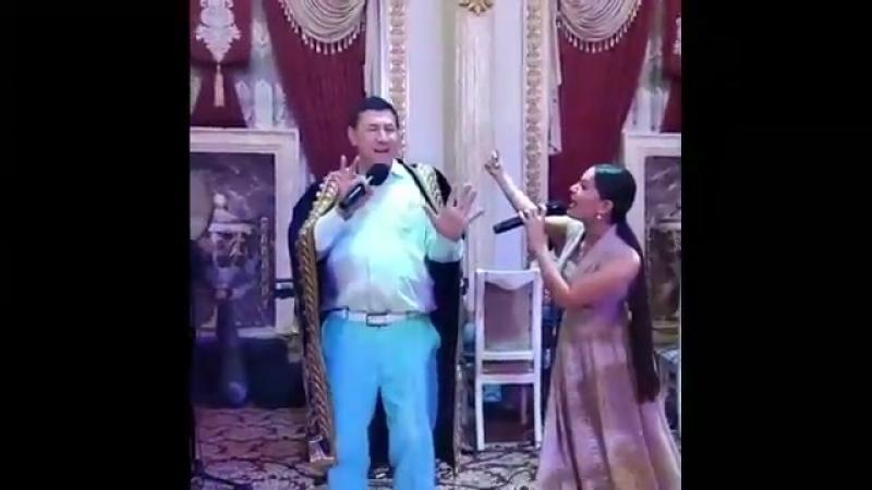 Ortiq ochildiyev va Hulkar Abdullayeva toyda _ Ортик Очилдиев ва Хулкар Абдулла