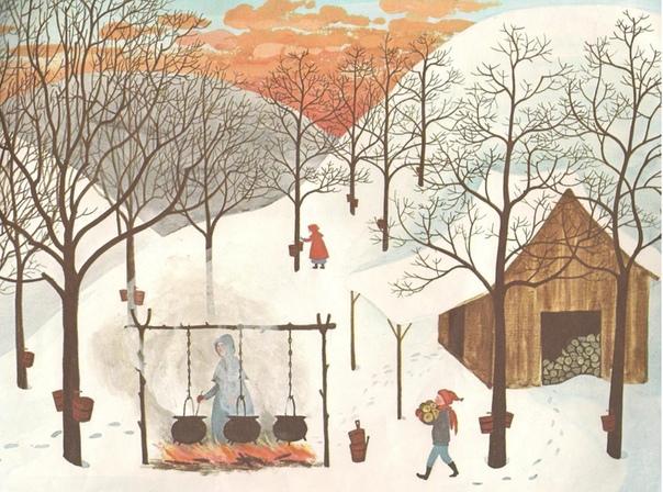 Теплые иллюстрации