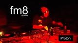 dj Proton at fm8 studio. 17 nov 2018.