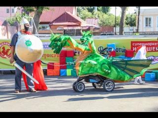 В Ельце прошел пятый парад колясок, самокатов и велосипедов
