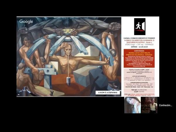 VÍDEO 0297 - A ONU E OS DIREITOS HUMANOS. O DISCURSO PLÁSTICO - Parte 1 - 20H