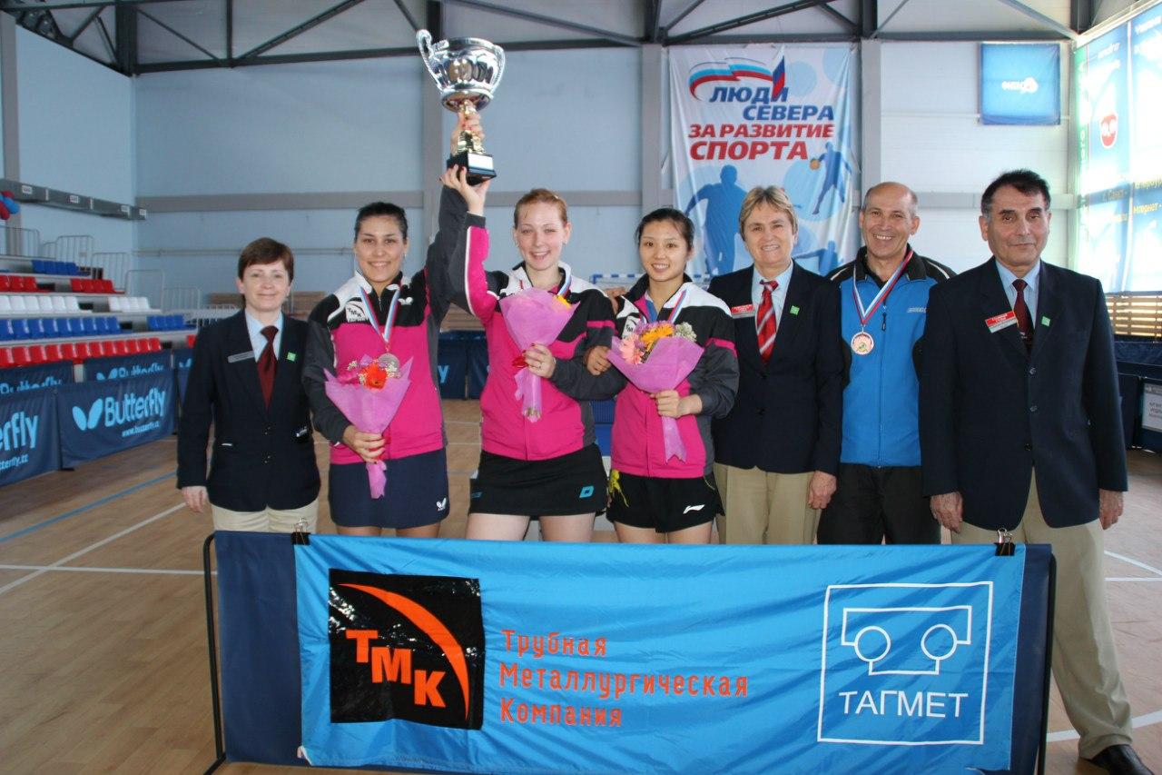Таганрогские спортсменки привезли с чемпионата России «бронзу»