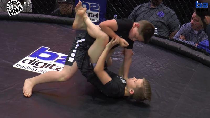 Hardrock MMA 98 Youth Grappling 1 Ace Daugherty vs Gunner Findley