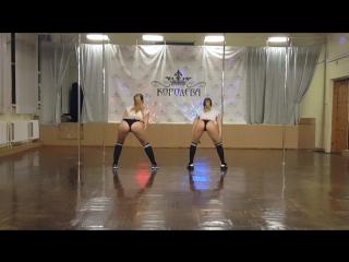 Аня Queen Гостева, Олеся Сурина, Booty Dance / DANCE - FITNESS STUDIO КОРОЛЕВА / ЧИТА