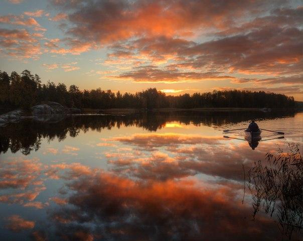 На рыбалку. Автор фото – Александр Атоян: