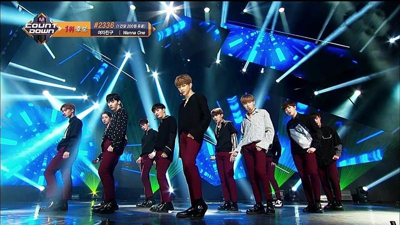 워너원 Wanna One 에너제틱 Energetic 교차편집