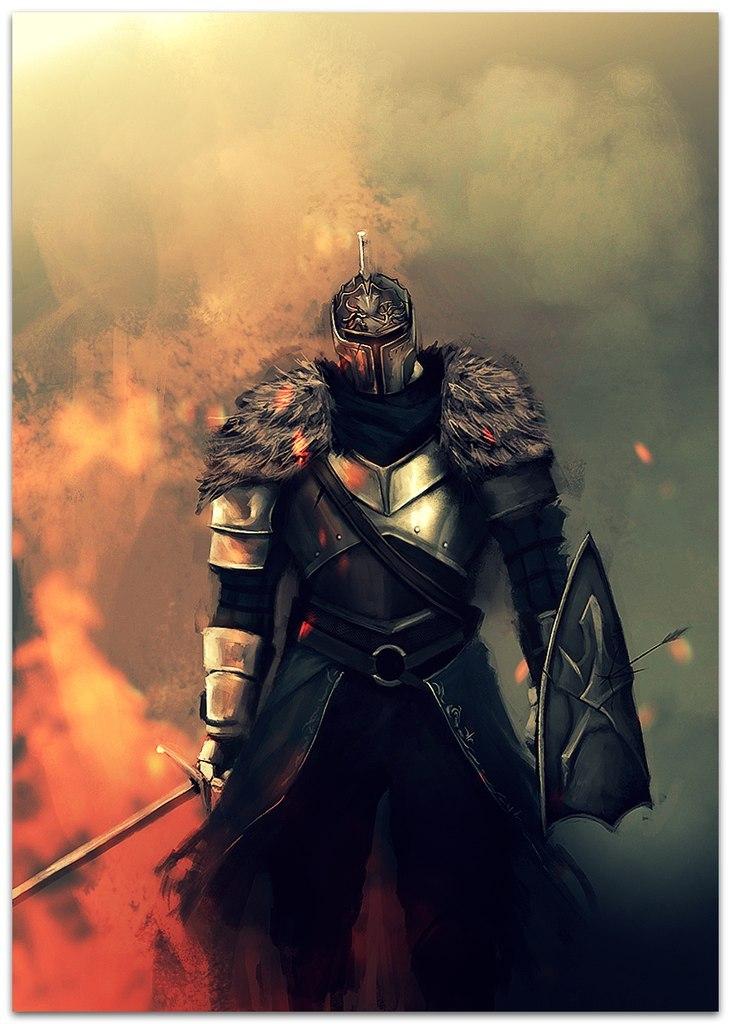 Dark Souls fan-art 3Dflrwwt5Is