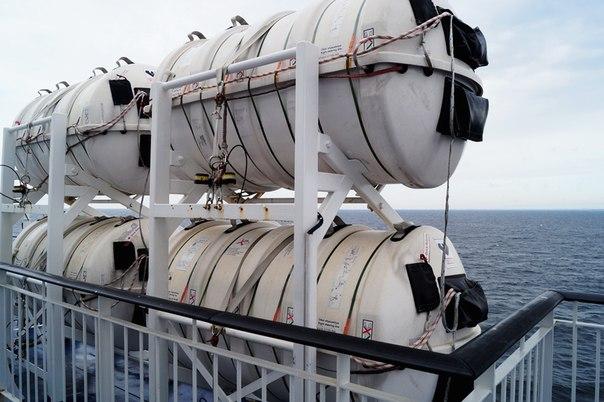 Спасательное снаряжение на корабле