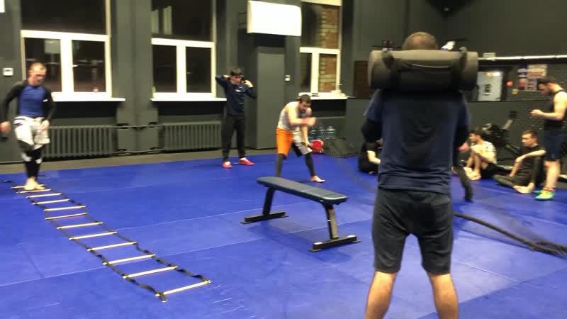 Ахмед Ибрагимов тренировка по вольной борьбе