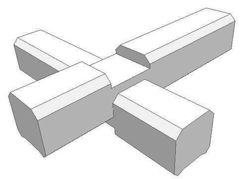 Надежные способы соединения углов бруса