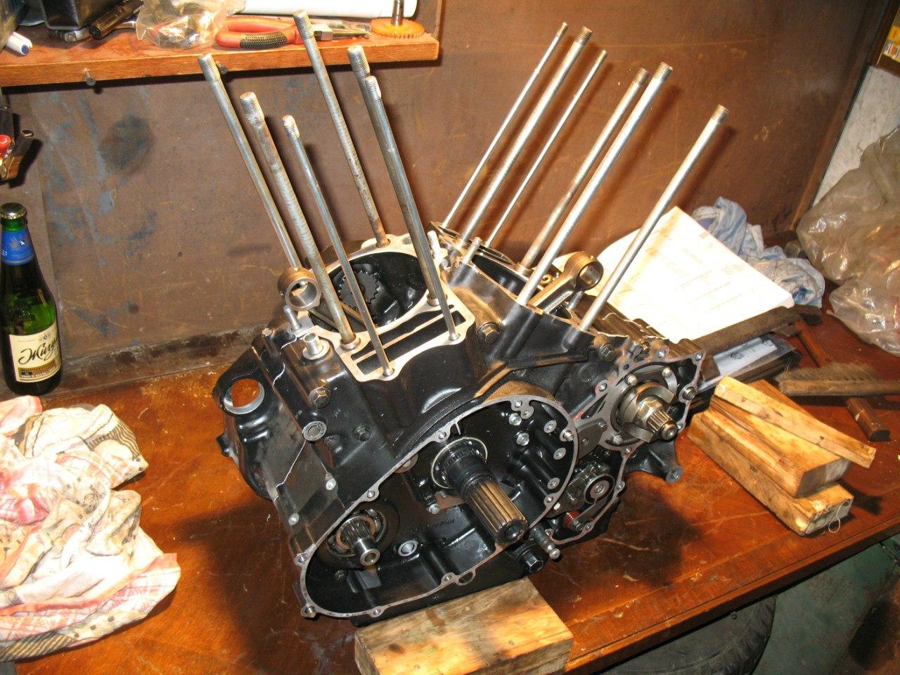 Блог им. Mrak2: разборка-сборка мотора 1996 Kawasaki VN-1500D1 Vulcan Classic