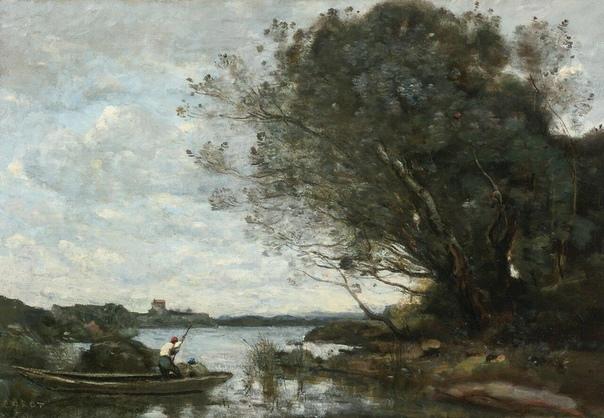 Французский художник Камиль Коро родился в 1796 году в Париже в очень богатой семье