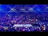 Steven Richards & Victoria vs. Test & Trish Stratus w/Stacy Keibler