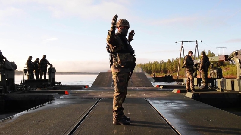 DFN:TRIDENT JUNCTURE 2018 - 2nd Company Multinational Engineer Battalion of the Very High Readiness