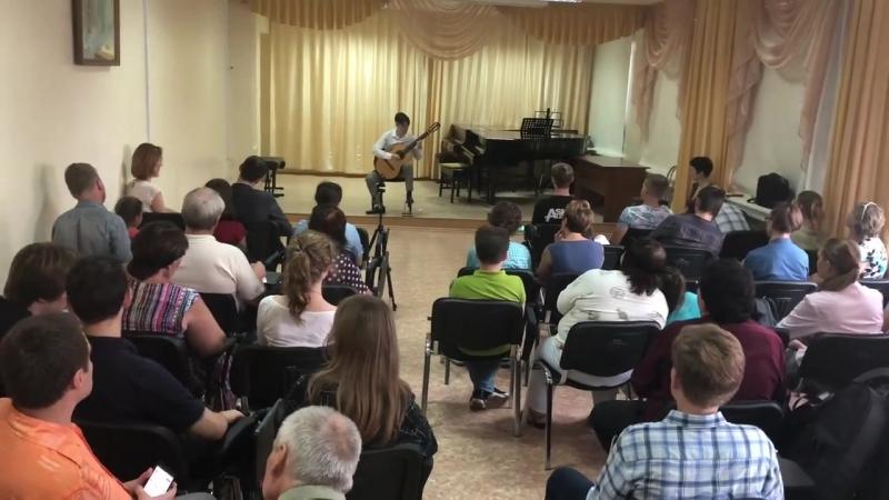Михаил Нагорнов, начало концерта, 20.08.2018