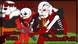 На вписоне с Fell и SwapFell Undertale