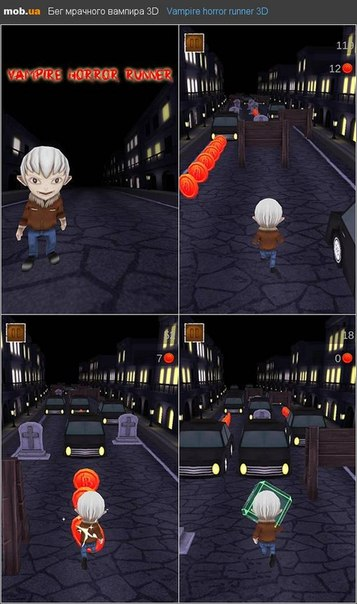 ... android mob ua game vampire horror runner 3d h жми