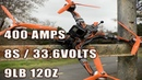8S Hildabeast 570mm FPV Drone APD120F3 APD PDB500 400AMPS