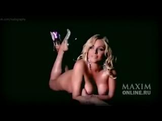 Юлия Началова в фотосессии для журнала Maxim Россия (2008)