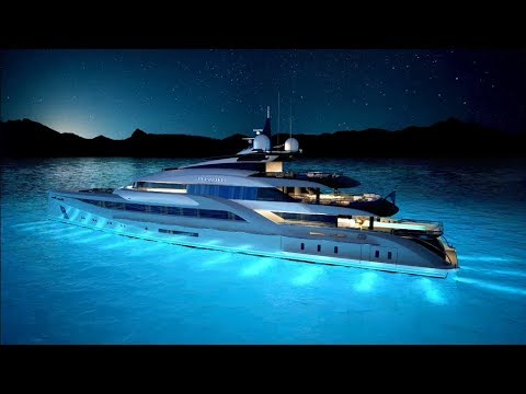 The Superyacht Concept 66m by Turquoise Yachts, ext.int.Nuvolari Lenard 2016/2020