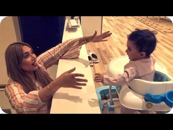 دكتوره خلود تلعب الغميضة مع خلود الصغيرة في منزلها الجديد 😎😘