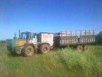 Конфискат сельхозтехники.