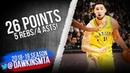 Klay Thompson Full Highlights 2019.01.03 Warriors vs Rockets - 26 Pts, 5 Rebs, 4 Asts! | FreeDawkins