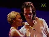 Nick Cave &amp Kylie Minogue - Where The Wild Roses Grow Big Day Out 1996