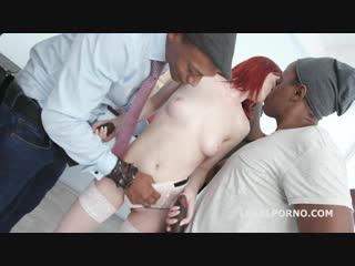 Gio811 - alex harper - gape, anal, a2m, dap, gangbang, lingerie, interracial