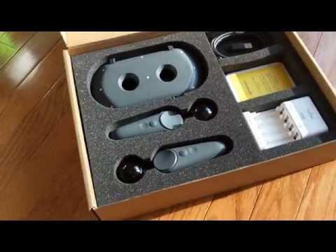 Распаковка шестиосевых контроллеров Daydream